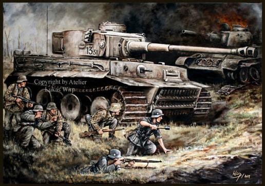 Waffen-SS, Panzer, Tiger, SdKfz 181, Kursk