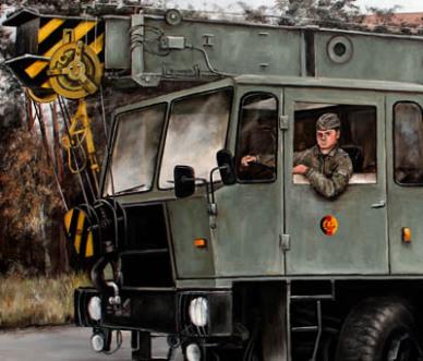 Nationale Volksarmee der DDR, NVA, Pioniere, ADK125