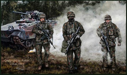 Bundeswehr, bilder, Heer, Panzer, Infanterie, Bilder