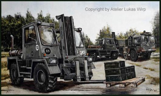 Bundeswehr, Nachschub, Logistik, Bilder