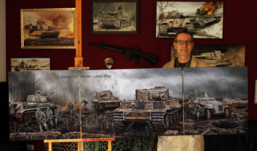 Panzer, Bilder, 2.Weltkrieg, Tiger, Otto Carius, Ritterkreuzm