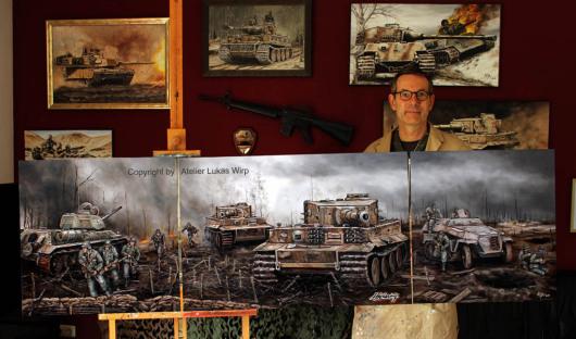 Tiger, 2. Weltkrieg, Gefecht, Ostfront, Wehrmacht, Ritterkreuz