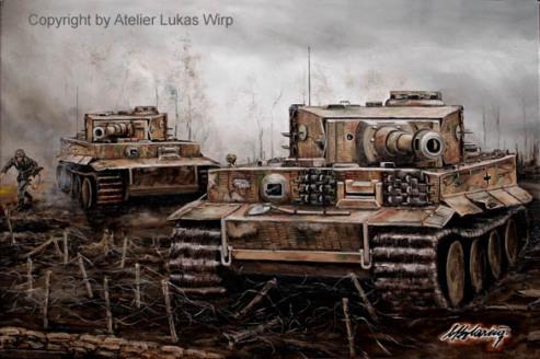 Tiger, Panzer, Russland, Wehrmacht, Ostfront, Angriff, Gefecht