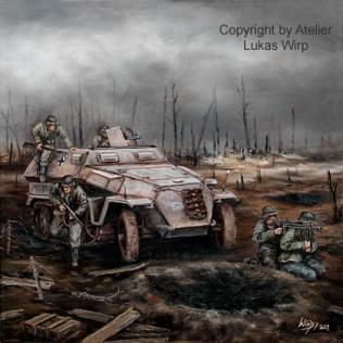 Halbkettenfahrzeug, Wehrmacht, SdKfz251, Panzergrenadiere