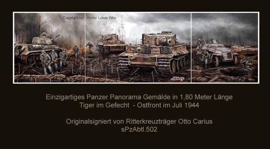 tiger, Panzer, Ostfront, Gefecht, Bilder, Ritterkreuzträger,Lukas Wirp