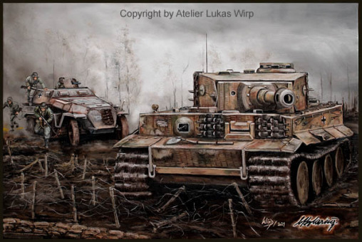 Panzergrenadiere, Wehrmacht, 2. Weltkrieg, Schützenpanzer