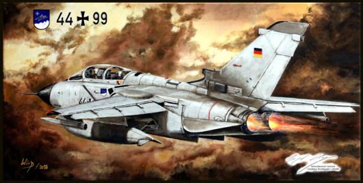 Bundeswehr, Tornado, Soldat, Pilot, Geschenk, Abschiedsgeschenk