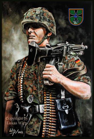 Geschenk, Jubiläum, Soldaten, Bundeswehr, Soldat, abschied.