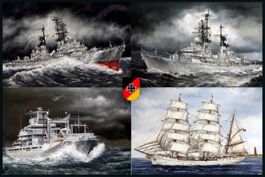 Bundeswehr, Marine, Abschied, Geschenk, Abschiedsgeschenk
