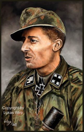 Kommandeur der Leibstandarte Joachim Peiper, Waffen SS