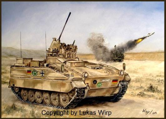 Panzergrenadiere in Afghanistan - Schuetzenpanzer Marder
