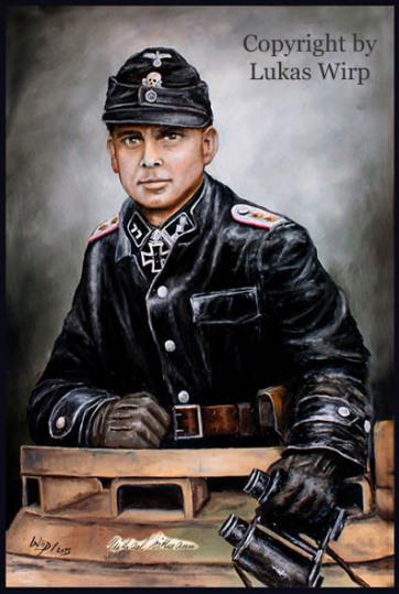 Michael Wittmann, Waffen SS Division Leibstandarte, Ritterkreuzträger