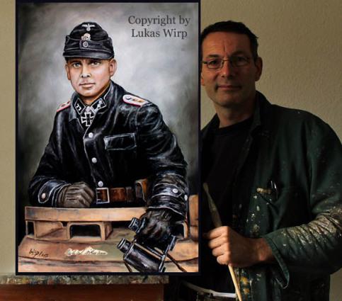 Panzer Kommandant der Waffen SS Michael Wittmann