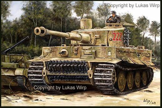 Leibstandarte, Tiger Panzer von Michael Wittmann