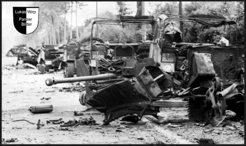 Michael Wittmann Tiger Panzer in Villers Bocage