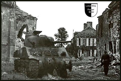 Tiger Panzer vs sherman tank