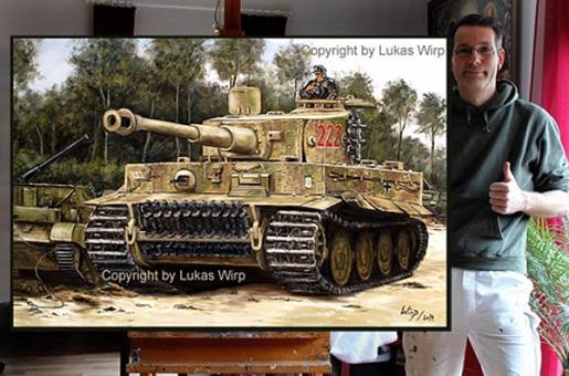 Tiger Panzer an der Westfront, 2. Weltkrieg