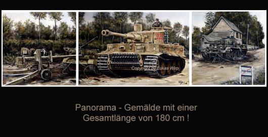 Panzer der Waffen SS an der Westfront