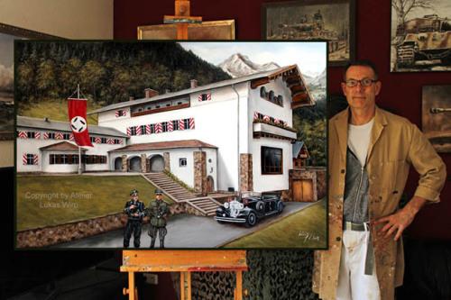 Der Berghof Obersalzberg von Adolf Hitler