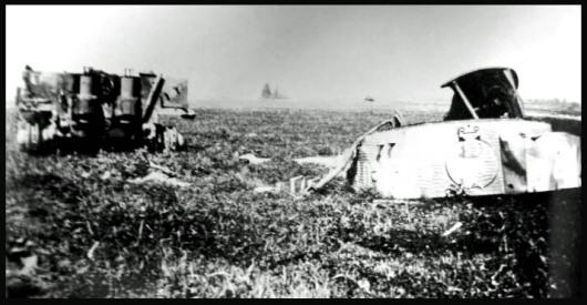 Wittmanns Tod im Tiger Panzer 007