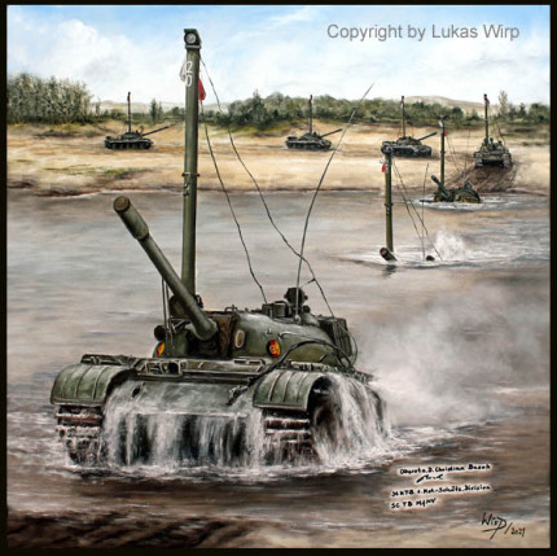 NVA Panzer T55, Nationale Volksarmee der DDR