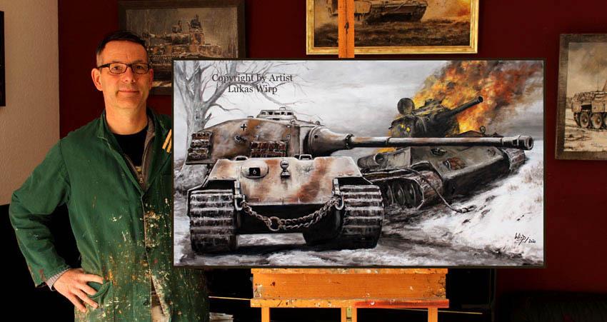 Copytec 26852 Lukas Wirp NVA T72 Panzer Tableau /à capuche DDR